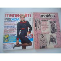 Manequim #366 Ano 1990 Xuxa - Com As Explicações E Moldes