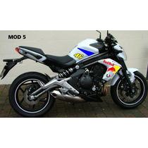 Adesivo Kawasaki Er6n Ninja 250r 300r Zx Todas