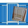 Portão Grade Proteção Porta Criança Pets Cães 99 Cm A 104 Cm