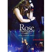 Dvd Rose Nascimento - Para O Mundo Ouvir.