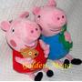 Peppa Pig E George Pig De Pelucia 2 Personagens!