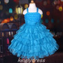 Vestido Infantil Festa Princesa Cinderela, Florista. Lindo!