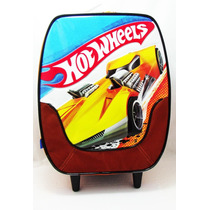 Mochila Baú C/ Rodas Hot Wheels