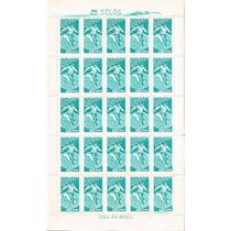 1963 C483 Folha Selos Bicampeonato Mundial De Futebol