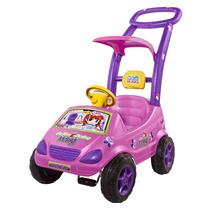 Carrinho Roller Baby Versátil Meg Rosa - Magic Toys