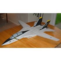 Aeromodelo-planta Do F-14 P/depron C/manual+super Brindes!!!