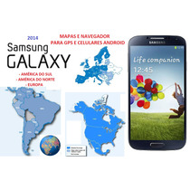 Atualização Gps Android Igo Mapas Américas E Europa S4 S3 S2