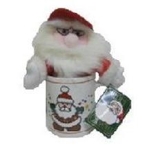 Caneca De Papai Noel - Enfeite De Natal
