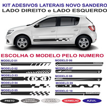 Acessorios Faixa Lateral Novo Sandero Authentique Sport