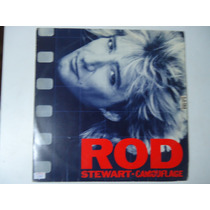Disco De Vinil Lp Rod Stewart.camouflage Lindoooooooo