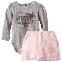 Body Saia Bebê Infantil Importado - Calvin Klein