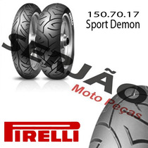 Pneu Pirelli 150.70.17 Sport Demon Fazer Cb 500 Bandit