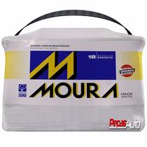 Bateria Moura 60 Amperes C/ Nota Fiscal 18 Meses De Garantia