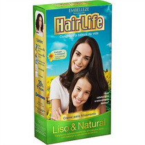 Creme Alisante Liso & Natural Hair Life Embelleze