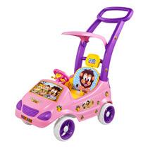Carrinho Roller Baby Bichos Rosa - Magic Toys