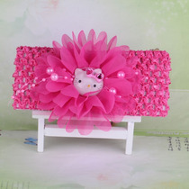 Faixa De Cabelo Infantil Bebê Tiara Hairband Hello Kitty