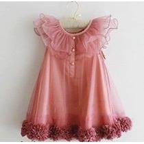 Vestido Importado De Criança De Festa