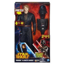 Dart Vader Lightsaber Changes Color Hasbro Boneco Se Transf