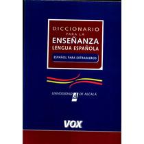 Diccionario Para La Ensenanza De La Lengua Espanola