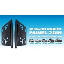 Moldura Painel Dvd 2 Din Ford Ka / Ranger / F250 / Escort
