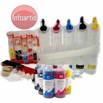 Bulk-ink Canon Ip4810 Ip4910 Ix6510 Mg5310 Mg5210 + Tinta