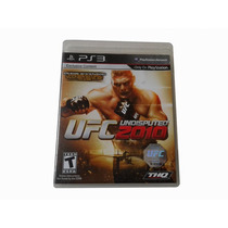 Ufc Undisputed 2010 Ps3 Midia Fisica Playstation 3