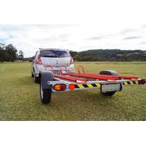 Carreta Carretinha Reboque 3 Motos 10x Sem Juros (bravo)