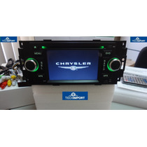 Central Multimidia Chrysler 300c Pt Cruiser Gps Sd Dvd Bt