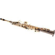 Saxofone Soprano Reto Eagle Preto Onix