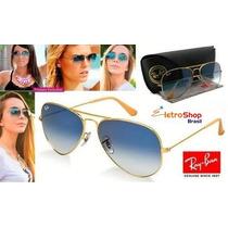 Oculos De Sól Ray Ban Aviador Original - Promoção