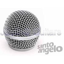 Globo Santo Angelo Para Microfones Sas58, Sm58 E Similares