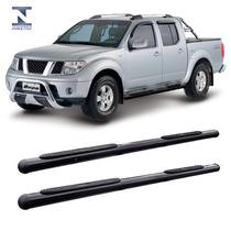 Estribo Lateral Preto Acessorio Nissan Frontier 2008 A 2015