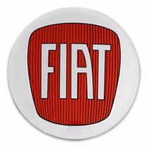 Kit Adesivos Para Calota Fiat Resinados Autocolantes 90mm