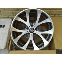 Roda Aro 18 X 8.5 Off Set 42 Furação 5x114.3 Hs186 Ava Wheel