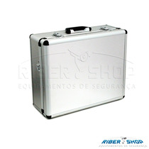 Maleta Aluminio Serie Ouro 48,5 X 38,5 X19cm Extra Grande
