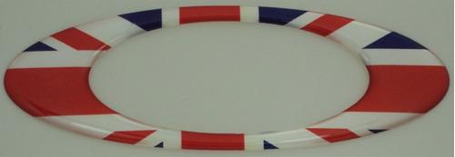 e2d3c21ed11ab Adesivos Oakley Inglaterra Resinados Bandeira Paises 12x4cm