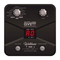 Pedaleira Para Guitarra Gv1fx Waldman Com Efeitos