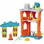 Conjunto Massinha Play-doh Town Quartel De Bombeiros Hasbro