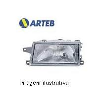 0160155 Farol Esquerdo Arteb P/ Uno, Mille Ano 91..04