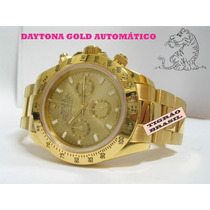 Rolex Daytona Gold Automático / A Prova D