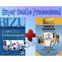 Bizu De Enf. 5100 + Quimo Auxiliar/técnico De Enfermagem