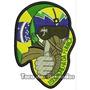 Patch Bordado Piloto Esquadrilha Da Fumaça Brasil 10cm Mlt93