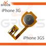 Botão Home Iphone 3g 3gs Cabo Flex - Nota Fiscal Nfe