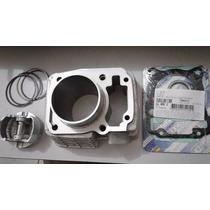 Kit Cilindro Pistao Aneis Titan 150 + Kit A 190cc