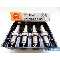 Jogo De Velas Ngk Bkr6eya-13d Corolla E Fielder 1.8 16v Flex