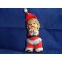Antigo Boneco Agarradinho Vestido De Papai Noel Sem Pressão