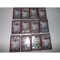 Gta Cards Kit 12 Envelopes De 4 Cartinha Para Bater + Brinde