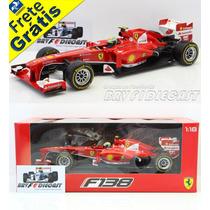 1/18 Hot Wheels Ferrari F138 Felipe Massa F1 2013