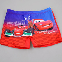 Sunga Boxer Praia Do Cars Disney Importada 4 A 8 Anos