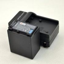 Kit Bateria Np-fv100 + Carregador P/ Sony Handycam Dcr-sr68